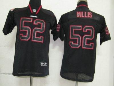 33f752fea Nike San Francisco 49ers 21 Frank Gore Lights Out Black Elite Kids Jerseys