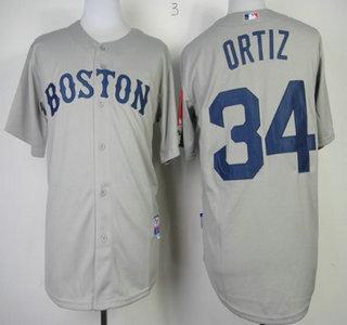 buy popular 36723 924fa Boston Red Sox #34 David Ortiz Red Cool Base Jersey