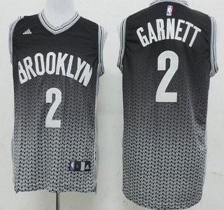 uk availability a39a0 29f2b brooklyn nets 2 kevin garnett black leopard print fashion jersey