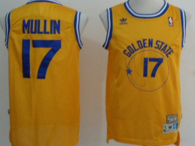 51e02d32aa2 ... Swingman Blue Throwback 2017 The Finals Patch Golden State Warriors 17 Chris  Mullin Yellow Throwback Swing Mens Adidas ...