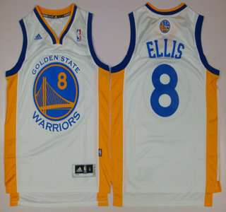 ... Golden State Warriors 8 Monta Ellis Revolution 30 Swingman White Jersey  ... ea18ab1b5