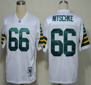 df1e4e11 ... Long-Sleeved Throwback Jersey Green Bay Packers 66 Ray Nitschke White  Short-Sleeved Throwback Jersey ...
