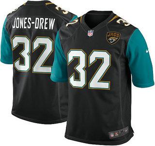 caf926401 Jacksonville Jaguars  32 Maurice Jones Drew Game Black Jersey