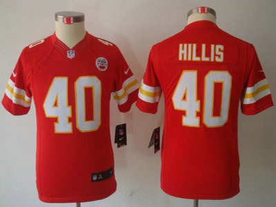 finest selection 4b23f f0556 nike kansas city chiefs blank red limited kids jersey