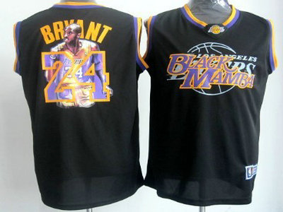 c9eeca19ae3 los angeles lakers 24 kobe bryant black notorious fashion jersey