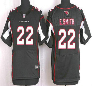 san francisco 2e931 2b533 Men's Arizona Cardinals #22 Emmitt Smith Black Retired ...