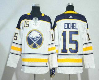 mens buffalo sabres 15 jack eichel white 2017 2018 hockey stitched nhl jersey