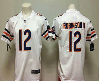 8301eed8122 Men's Chicago Bears #12 Allen Robinson II White 2018 Vapor Untouchable  Stitched NFL Nike Limited