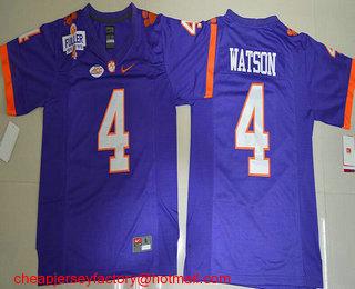 deshaun watson purple clemson jersey