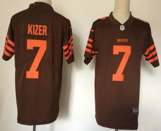 newest ecf06 aa5e3 mens cleveland browns 4 britton colquitt brown 2016 color ...