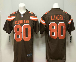 a9ef847c40d ... Limited Jersey $ 21.5. Men's Cleveland Browns #80 Jarvis Landry Brown  Team Color 2018 Vapor Untouchable Stitched NFL Nike