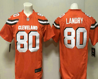 5ae8f91cbb9 ... clearance mens cleveland browns 80 jarvis landry orange alternate stitched  nfl nike game jersey e0f2e 704ee ...