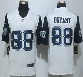 f429baf0c8e ... coupon for mens dallas cowboys 88 dez bryant nike white color rush 2015  nfl limited jersey