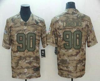 Wholesale Men's Dallas Cowboys #21 Ezekiel Elliott Nike Navy Therma Long  for sale