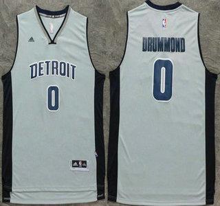 e72a0faff ... Basketball Jersey Men Mens Detroit Pistons 0 Andre Drummond Revolution  30 Swingman New Gray Jersey ...