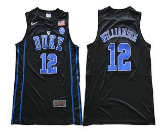 pretty nice 875c4 b6a35 Men's Duke Blue Devils #33 Grant Hill Blue Round Collar ...