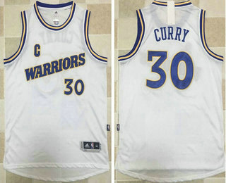 check out 40d65 4bd2c Men's Golden State Warriors #30 Stephen Curry White 2016 ...
