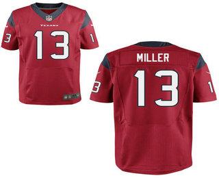9453e04d1dc Men's Houston Texans #13 Braxton Miller Red Alternate NFL Nike Elite Jersey
