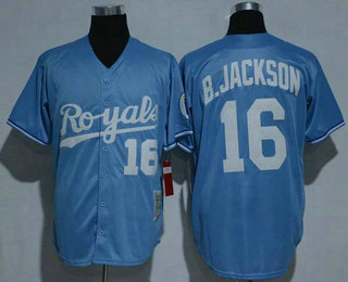 new product 7c7ef aa757 Men's Kansas City Royals #5 George Brett KC Navy Blue ...