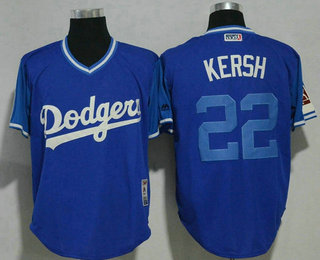 Men s Los Angeles Dodgers  22 Clayton Kershaw Kersh Navy 2017 Little League  World Series Players 0b071f6fa