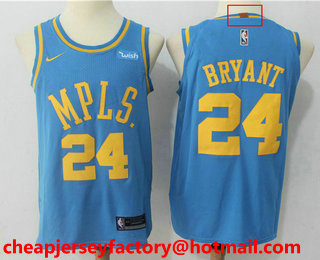 93114938cbd ... jersey small; swingman jersey gold x large mens los angeles lakers 24  kobe bryant new light blue 2017