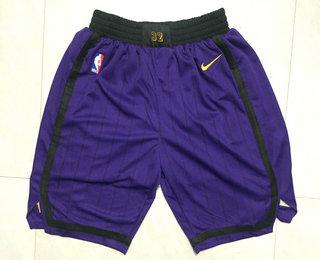 2082c541f Men s Los Angeles Lakers Purple 2018-19 City Edition Nike Swingman Shorts