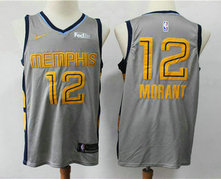 Men\'s Memphis Grizzlies #11 Mike Conley New Light Blue 2017-2018
