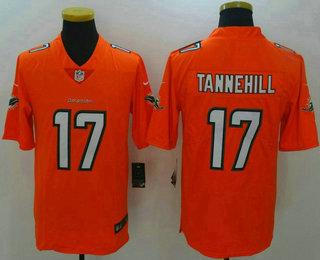6981c631 nike miami dolphins 17 ryan tannehill nike orange color rush limited ...