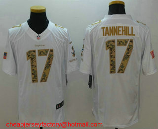 52b2a5830 ... denmark mens miami dolphins 17 ryan tannehill white salute to service stitched  nfl nike limited jersey