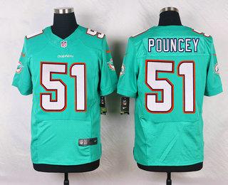 Hot Men's Miami Dolphins #17 Ryan Tannehill Aqua Green Team Color NFL  free shipping
