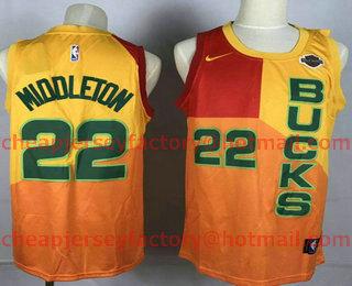 size 40 011d1 474dc Men's Milwaukee Bucks #34 Giannis Antetokounmpo Grey With ...