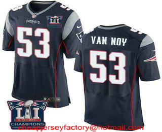 PATRIOTS SUPER BOWL PATCH 53 CHAMPIONS 2019 Embroidered LIII Brady Jersey