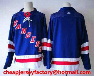 949c5006cd4 ... uk mens new york rangers blank royal blue home 2017 2018 hockey  stitched nhl jersey 0561c
