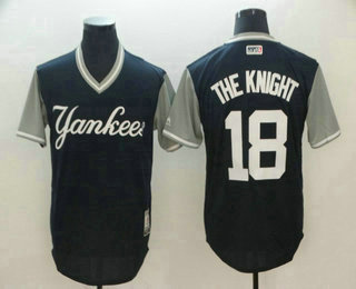 205222520 ... jersey ec89f 078ee new zealand mens new york yankees 18 didi gregorius  the knight navy 2018 llws players weekend ...