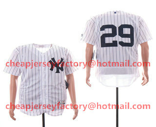 4f9abeef2 Men s New York Yankees  29 Todd Frazier White Home Stitched MLB Flex Base  Jersey