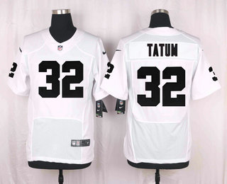 9bc24e7e2 Men s Oakland Raiders  32 Jack Tatum White Road Stitched NFL Nike Elite  Jersey