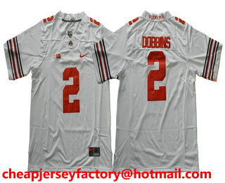 289a115b8 ... mens ohio state buckeyes 2 j. k. dobbins white limited stitched college  football nike ncaa jersey