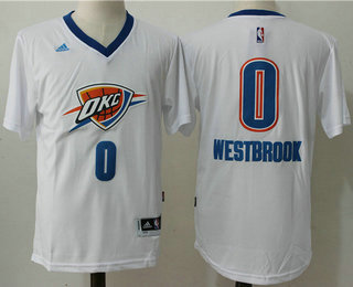 ... Jersey Mens Oklahoma City Thunder 0 Russell Westbrook Revolution 30  Swingman 2014 New White Short- ... 9a6a146e1