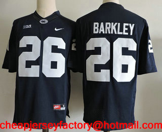 44da06f584d Natty Lions 1 Joe Paterno Navy Blue Jersey 21. Mens Penn State ...