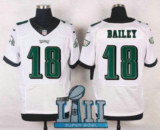 Men's Philadelphia Eagles #26 Walter Thurmond White 2018 Super Bowl  free shipping