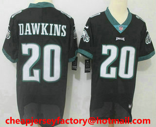 official photos e0b71 3a1f2 women nike eagles 20 brian dawkins white nfl vapor ...