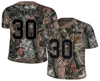 Men s Pittsburgh Steelers  30 James Conner Camo Stitched NFL Rush Realtree  Nike Limited Jersey f5d9caeca
