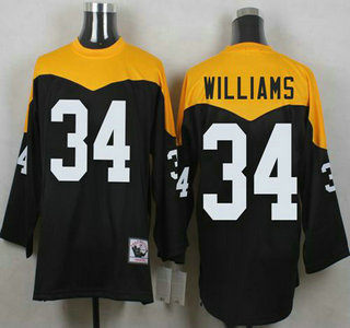 08bf253a98d ... new zealand 34 deangelo williams black retired player 1967 home  throwback nfl jersey black john stallworth ...