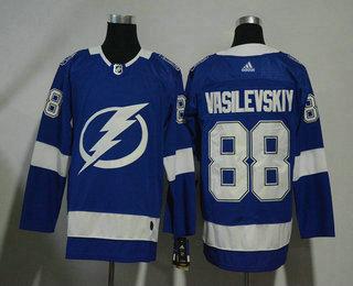 Men s Tampa Bay Lightning  88 Andrei Vasilevskiy Light Blue 2017-2018 Hockey  Stitched NHL 470a9b85f