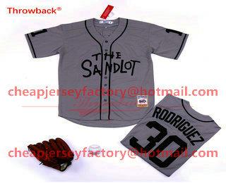 Benny /'The Jet/' Rodriguez 30 Baseball Jersey 5 Michael /'Squints/' Palledorous 11