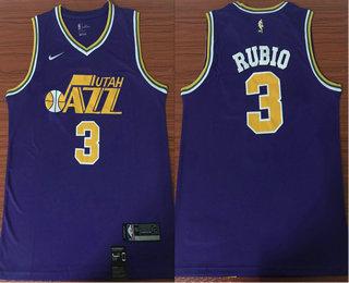 new arrival 9c856 5f702 Men's Utah Jazz #45 Donovan Mitchell Purple 2019 Nike ...