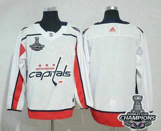finest selection 0e950 9e708 Men's Washington Capitals Blank White Stitched NHL Away ...
