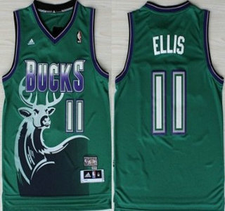 7b3d6d0cd ... Milwaukee Bucks 11 Monta Ellis Green Hardwood Classics Swing Cheap Milwaukee  Bucks Monta Ellis 11 White Revolution 30 Swingman Jerseys Mens ...