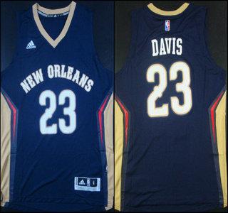 ... NBA Youth Road Jersey New Orleans Pelicans 23 Anthony Davis Revolution  30 Swingman 2014 New Navy Blue Jersey ... 69d3c7cd5