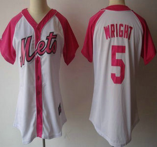 super popular a2815 8ae15 new york mets 5 david wright white pinstripe jersey